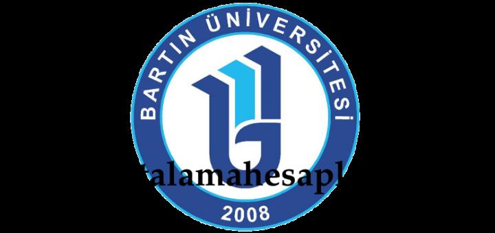Bartin Universitesi Not Ortalama Hesabı